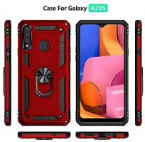 A20s Case,ADDIT Samsung Galaxy A20s Case Military Grade Protective Samsung A20s Cases Cover with Ring Car Mount Kickstand for Samsung Galaxy A20s - Black