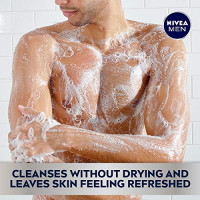 Nivea Men Cool 3-in-1 Body Wash, 16.9 Fl. Oz (Pack of 3) : Bath And Shower Gels : Beauty