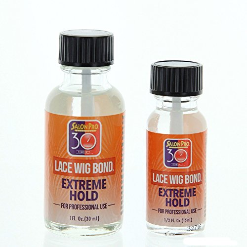 Salon Pro 30 Sec EXTREME HOLD Lace Wig Glue 0.5 oz or 1oz by iShapify LLC (0.5 oz): Beauty