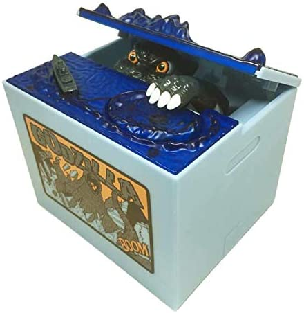 Babook- Electronic Piggy Bank, Godzilla Monster Dinosaur Coin Bank Funny Kids' Money Banks for Children: Home & Kitchen