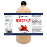 Organic Hot Cream-Cellulite Cream-Muscle Rub-Slimming Cream-Pain Relief-Body Wraps-Belly Fat-Skin Firming & Weight Loss-Professional Therapeutic Grade-Doctor Formulated (8 Ounce) : Beauty