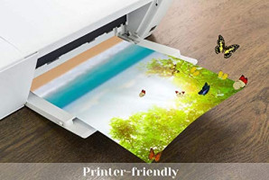 Vellum Paper, Cridoz 50 Sheets Vellum Transparent Paper 8.5 x 11 Inches Translucent Clear Paper for Printing Sketching Tracing Drawing Animation : Office Products