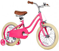 Petimini 14'' 16'' Kids Bike for Girls 2.5-6 Years Old with Training Wheels & Front Hand Brake, Mint Green, Rose Red, Purple : Sports & Outdoors