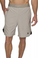 Dry FIT Gym Shorts for Men - Mens Workout Running Shorts - Moisture Wicking with Pockets and Side Hem: Clothing