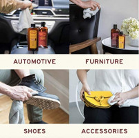 Leather Cleaner by Leather Honey: The Best Leather Cleaner for Vinyl and Leather Apparel, Furniture, Auto Interior, Shoes and Accessories. Concentrated Formula Makes 32 Ounces When Diluted!: Home & Kitchen