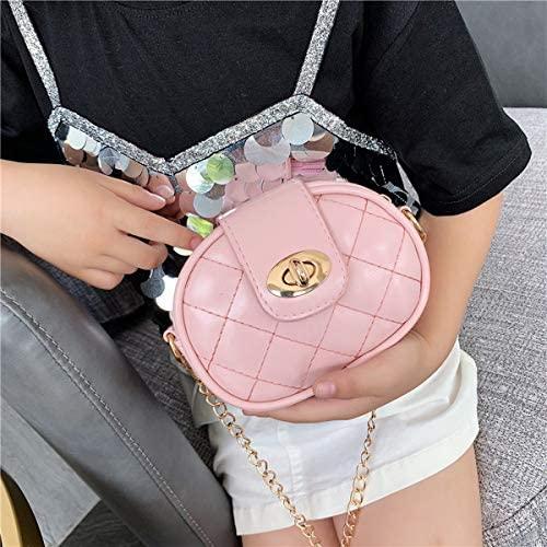 Little Girls Crossbody Shoulder Bag Casual Princess Handbags Cute Purse for kids
