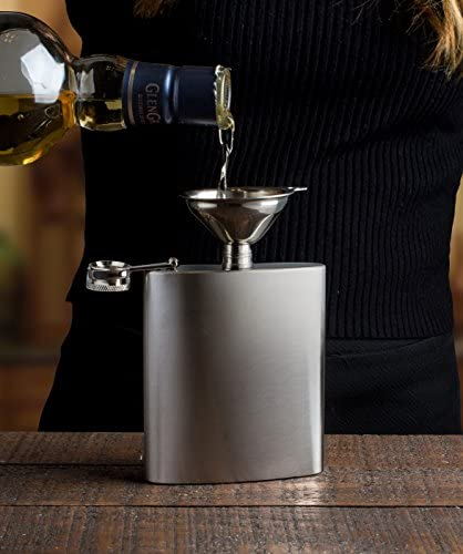 Bellemain Small Funnel Set 3-Piece Stainless Steel for Spices, Essentail Oil, and Flask Funnel: Kitchen & Dining