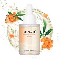 BE PLAIN Vitamin Ampoule 1.01 fl oz. - Korean Multi Vitamin Lightening Serum for Face with Vitamin B, Vitamin C, Vitamin E, Hyaluronic Acid: Beauty