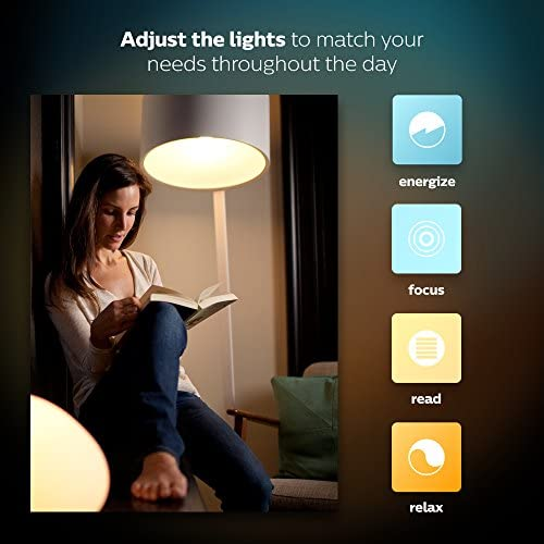 Philips Hue White Ambiance BR30 60W Equivalent Dimmable LED Smart Flood Light (Works with Alexa Apple HomeKit and Google Assistant)
