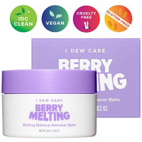 I DEW CARE Berry Melting   Makeup Remover Cleansing Balm with Jojoba Oil   Double Cleanse Technique   Korean Skincare, Vegan, Cruelty-free, Gluten-free, Paraben-free : Beauty