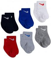 Nike Baby Toddler Kids Ankle Gripper Socks (6 Pairs): Clothing