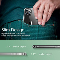 Temdan Compatible with iPhone 12 Case/Compatible with iPhone 12 Pro Case - Clear: Electronics