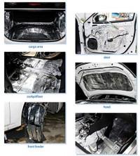 "uxcell 236mil 16.36sqft Car Auto Truck Sound Deadener Heat Insulation Underlay Shield Mat 60""x40"": Automotive"