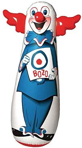 """The Original 46"""" Bozo 3-D Bop Bag: Toys & Games"""