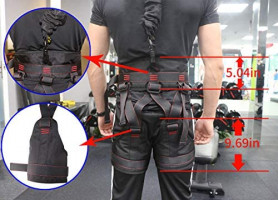 DASKING Heavy Bungee Cord Resistance Belt for Home Gym Yoga Bungee Rope Gravity Bungee Training Tool Ideal for Home Gym Studio (Weight Class -3): Home Improvement