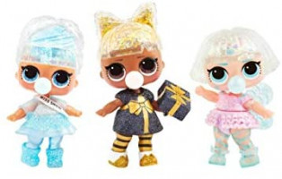 L.O.L. Surprise! Glitter Globe Doll Winter Disco Series with Glitter Hair: Toys & Games