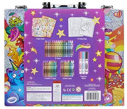 Crayola Mini Art Set with UniCreatures, Kids Art Kit, 100+ Pcs, Gift, Ages 3, 4, 5, 6, 7: Toys & Games