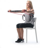 Bodygym Core System Portable Home Gym - Resistance Trainer All-in-One Band + Bar Kit, Full Body Workout: Improve Fitness, Build Muscle, Strength Exercises with Marie Osmond Workout DVD Included : Sports & Outdoors