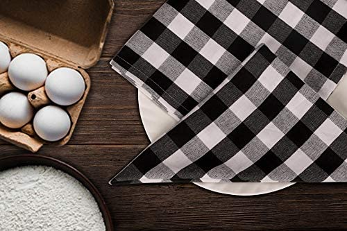 Urban Villa Dinner Napkins, Everyday Use, Premium Quality, 100% Cotton, Set of 10, Size 20X20 Inch, Harvest Special, Over Sized Cloth Napkins with Mitered Corners, Ultra Soft, Durable Hotel Quality: Kitchen & Dining