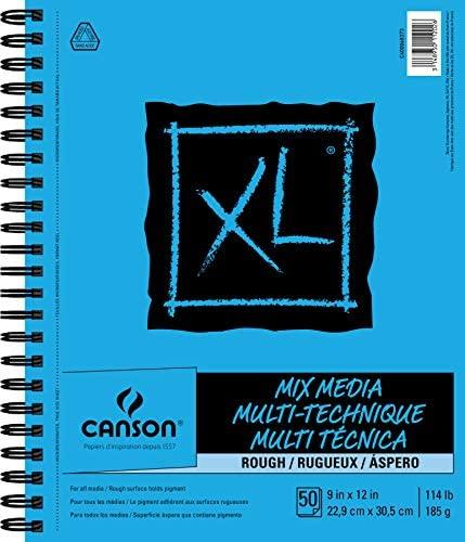 "Canson XL Series Rough Mix Media, 9"" x 12"""