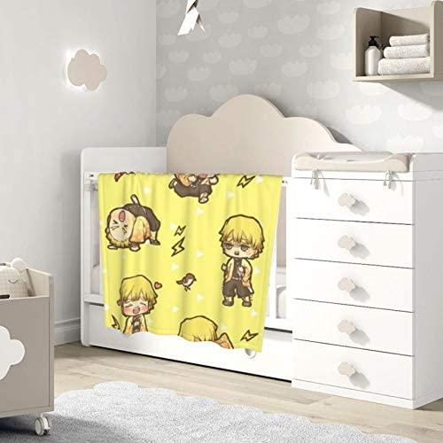 Amerltees Kimetsu No Yaiba Logo Baby Blanket Ultra-Soft Micro Fleece Blanket Gifts 30 X 40: Home & Kitchen