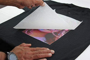 """PPD Inkjet PREMIUM Iron-On Dark T Shirt Transfers Paper LTR 8.5x11"""" pack of 10 Sheets (PPD004-10) : Office Products"""