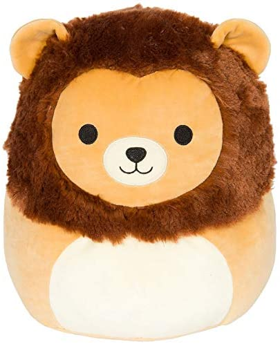 Squishmallow 12 Inch Brown Lion Stuffed Plush Toy: Toys & Games