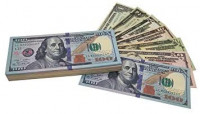 Copy Money Full Print 2 Sides,Prop Money 140 Sets for Kids, Movies,Music Videos: Toys & Games