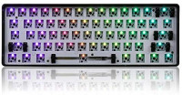 Comebuywide MonkeyClimb Geek Customized GK61 Hot Swappable 60% RGB Keyboard Customized Kit PCB Mounting Plate Case: Home & Kitchen