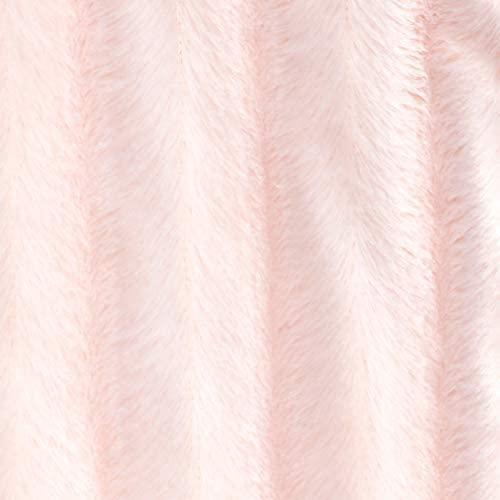 Madison Park Duke Reversible Long Faux Fur and Micro Fur Throw 50x60 Super Soft Lush Comfort: Home & Kitchen