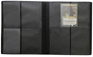 Ultra Pro 9-Pocket Black PRO-Binder : Sports Related Trading Card Albums : Sports & Outdoors