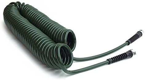 Water Right Professional Coil Garden Hose, Lead Free & Drinking Water Safe, 50-Foot x 3/8-Inch, Olive Green : Garden & Outdoor