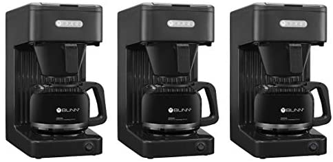 BUNN-O-MATIC CSB1 Speed Brew Select Bunn 10C Brewer Coffee Maker, 10-Cup, Black (Thrее Расk): Kitchen & Dining