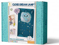 GoldieBlox Cloud Dream Lamp, for Kids 8+, Features Remote-Controlled Color Changing LED Lights, Educational DIY STEM Activity: Toys & Games