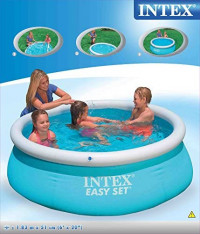 Intex 6ft x 20in Easy Set Swimming Pool #28101: Garden & Outdoor