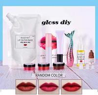DIY Lip Gloss Set,Matte Lip Gloss Making Kit Home DIY Set Adults Base Sets for Girls(Random Paint Colors): Home & Kitchen
