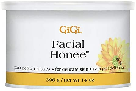 GiGi Facial Honee Hair Removal Wax for Delicate Skin, 14 oz : Hair Removal Wax : Beauty