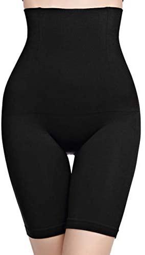 Women Body Shaper Tummy Control Shapewear High Waist Mid-Thigh Slimmer Shorts Underwear Butt Lifter Bodysuit Panties: Clothing
