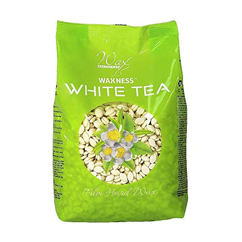 Waxness Hard Wax Beads White Tea Cream 1.1 Pound : Beauty