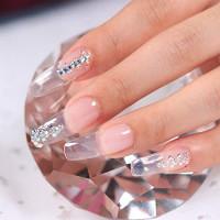 Makartt Nail Extension Gel Clear Builder Gel Nail Gel Trendy Nail Art Design Nail Extension Gel Salon Nail Easy DIY at Home 50ML P-21: Beauty