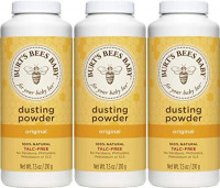 Burt's Bees Baby 100% Natural Dusting Powder, Talc-Free Baby Powder - 7.5 Ounces Bottle - Pack of 3: Health & Personal Care