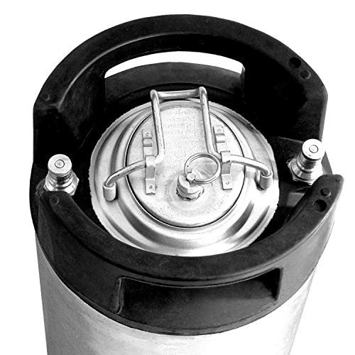 Beverage Factory 2X-KEG-RE5-BL-PV 5 gal Cornelius Keg (Ball Lock) Beer Keg: Industrial & Scientific
