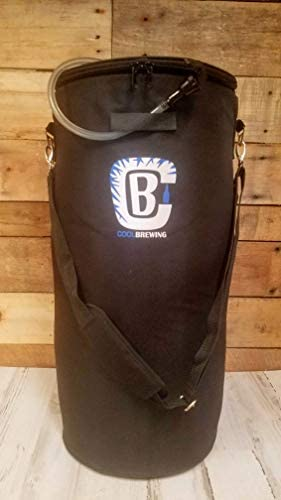 Home brew Keg Cooler & Ice Wrap Bundle. Beer Cooler for 5 gallon, Corny and Cornelius kegs. Cool Brewing: Kitchen & Dining