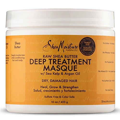 SheaMoisture Raw Shea Butter Deep Treatment Masque | Family Size | 16 oz.: Beauty