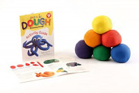 Hygloss Products Kids Unscented Dazzlin' Modeling Dough - Non-Toxic - 1lb - White - 1 Piece: Arts, Crafts & Sewing