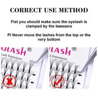 Volume Lash Extensions FADLASH Premade Fans 10D C Curl 0.10 8~14mm Mixed Tray Premade Lashes Optinal 4D 6D 8D 7D 10D Volume Extensions (10D-0.10-C, 8-14mm Mix): Beauty