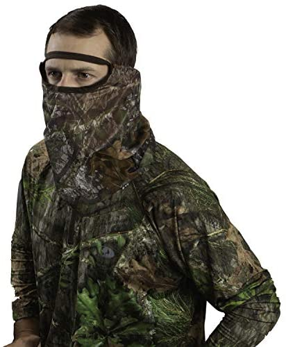 Allen Company Visa Form 3/4 Camo Hunting Head Net - Mossy Oak Obsession : Sports & Outdoors