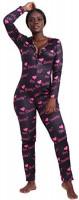 MissShorthair Long Sleeve Onesies Women Sexy, One Piece Deep V Neck Bodycon Onesie Pajamas: Clothing