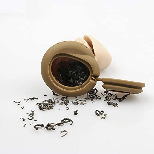 TBWHL Funny Loose Leaf Tea Infuser Ball, Food Grade Silicone Stool Shape Hot Tea Infuser Tea Strainer Ball Filter: Kitchen & Dining