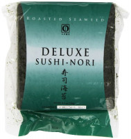 Nagai Deluxe Sushi Nori, 50 Count : Dried Seaweed And Nori : Grocery & Gourmet Food